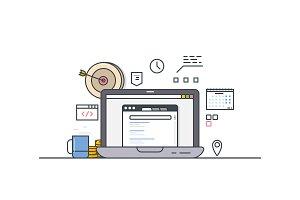 Online computer targeting