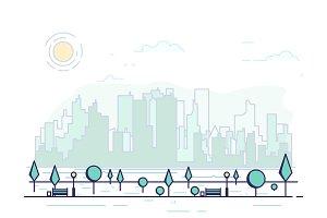 Line city park