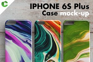 IPHONE 6S PLUS CASE MOCK-UP 3d print