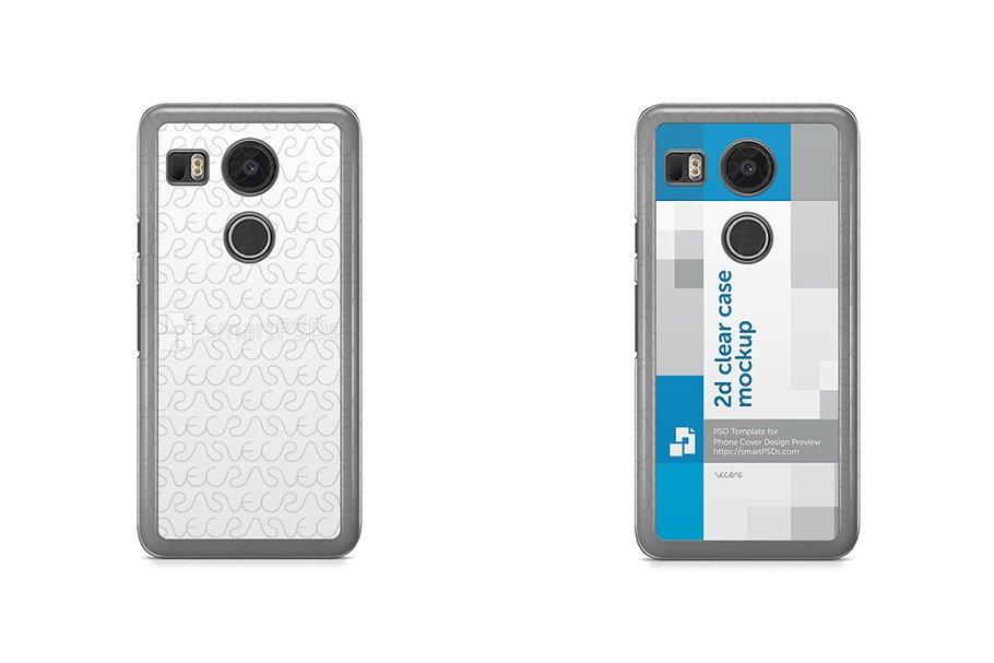 Google Nexus 5X 2d Clear Mobile Case