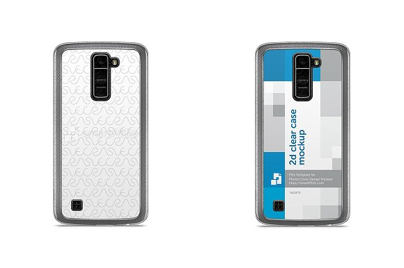 LG K10 2d Clear Mobile Case