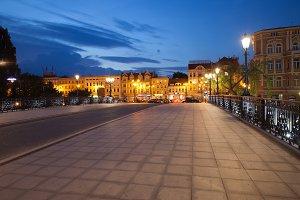 Bydgoszcz City By Night