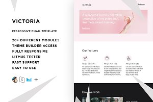 Victoria – Email template + Builder