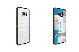 Galaxy S7 Edge 2d IMD Colored Case