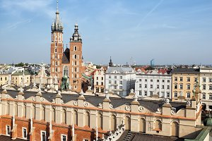 City of Krakow in Poland