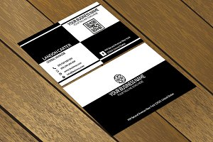 CT018 Clean & Minimal business card