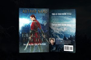Book Cover Epic Fantasy - Template 1