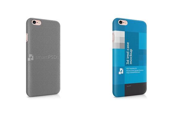 Apple iPhone 6S Plus 3d IMD Case