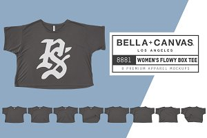 Bella Canvas 8881 Flowy Boxy Tee