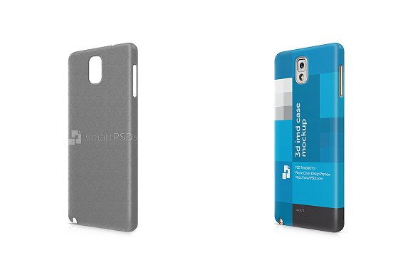 Galaxy Note 3 3d IMD Mobile Case