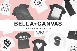 200+ Bella Canvas Mockup Bundle