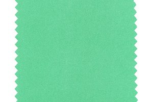 green paper sample background isolated over white