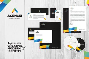 RW Clean Modern Corporate Identity