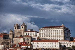 City of Porto Old Town in Portugal