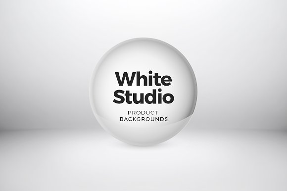 White Studio Product Backgrounds