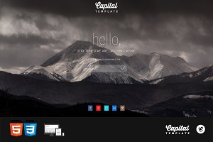 Capital - Coming Soon Page