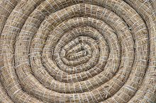 Archery Coiled Straw Target by Artur Bogacki in Abstract