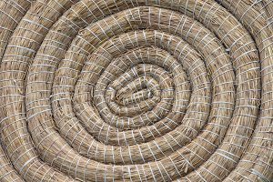 Archery Coiled Straw Target