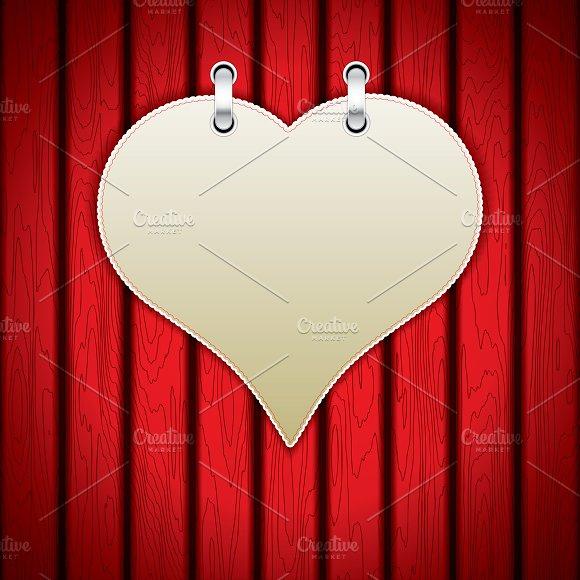 Valentine`s day background  in Illustrations