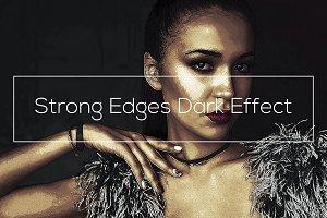 Strong Edges Dark Effect