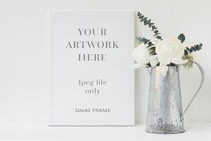 Floral Canvas mockup - ofr111