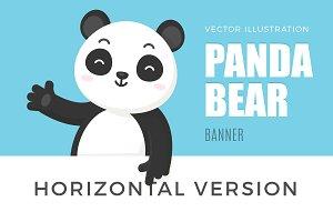Panda Bear Banner