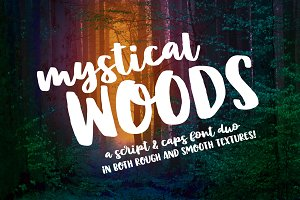 Mystical Woods: script and caps duo