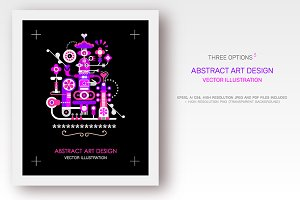 Abstract Art Designs (3 options)