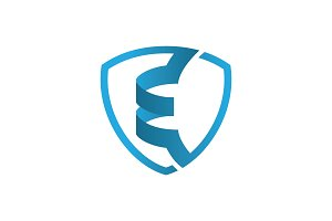 Shield E - Logo Template