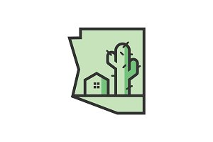 Arizona Real Estate - Logo Template
