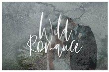 romantic font