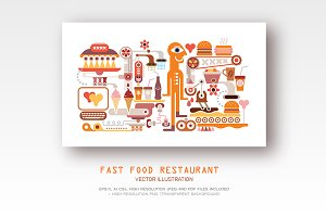 Fast Food Restaurant (2 options)