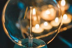 lamp rustic nordic