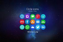 Circle Icons Modern Pack