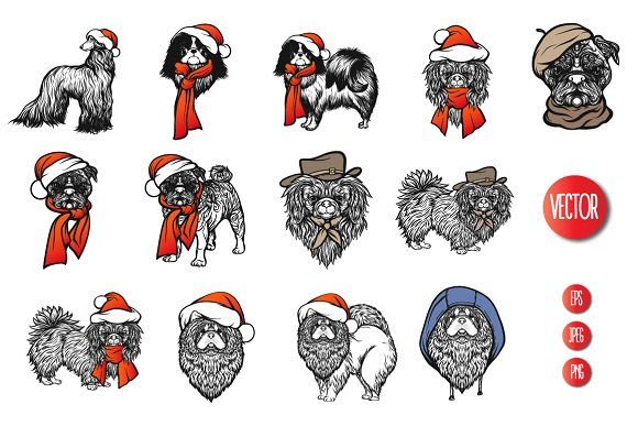 13 Dogs in Hats in Objects - product preview 2