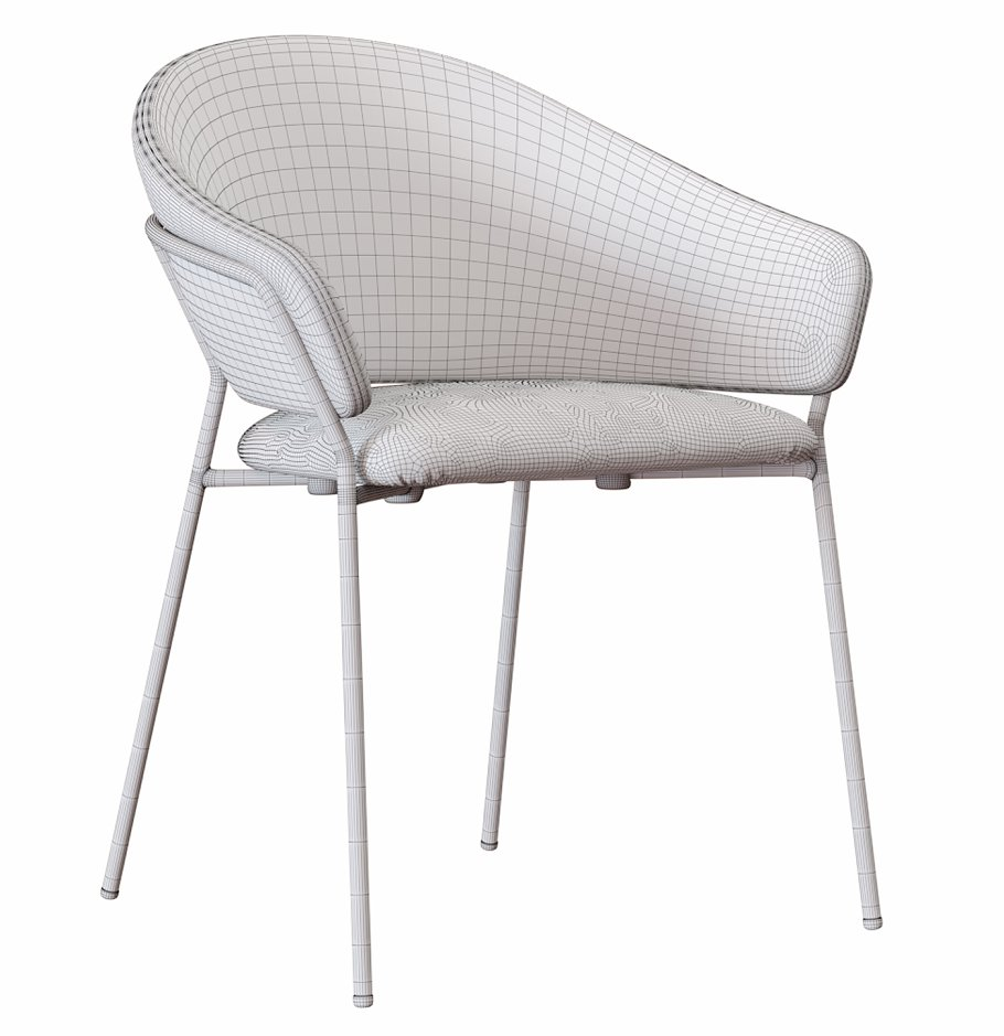 JAZZ_Chair_by_Pedrali in Furniture - product preview 2