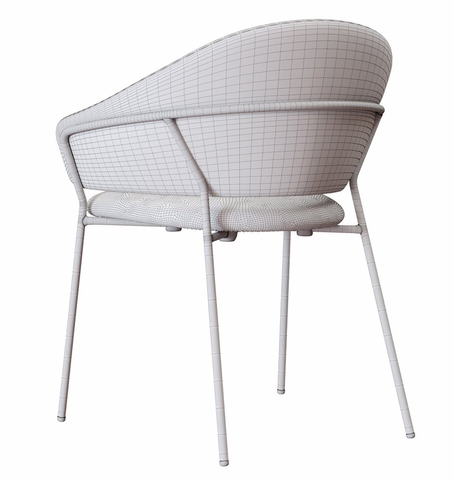 JAZZ_Chair_by_Pedrali in Furniture - product preview 3