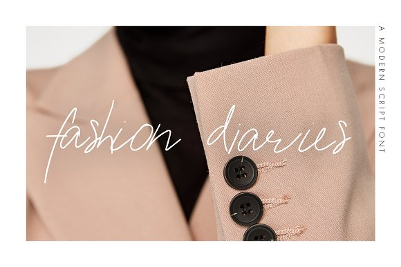 Fashion Diaries Script Font