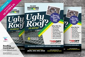 Roofing Contractor Flyer Vol.02