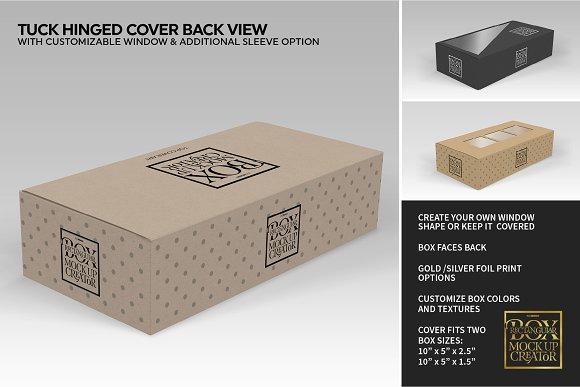 Rectangular Box Mock Up Creator in Product Mockups - product preview 8