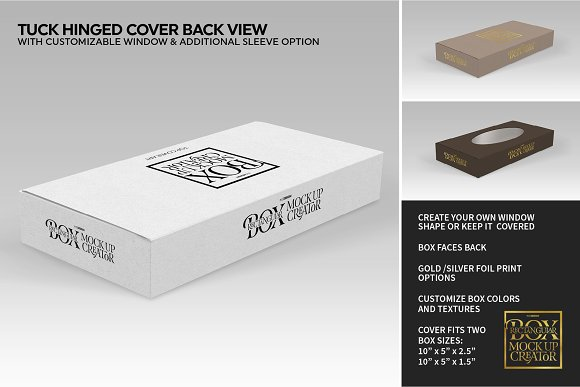 Rectangular Box Mock Up Creator in Product Mockups - product preview 9