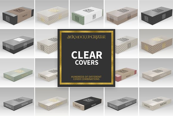 Rectangular Box Mock Up Creator in Product Mockups - product preview 10