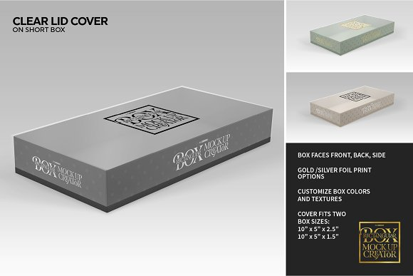 Rectangular Box Mock Up Creator in Product Mockups - product preview 12
