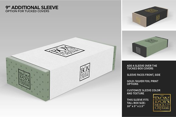 Rectangular Box Mock Up Creator in Product Mockups - product preview 15