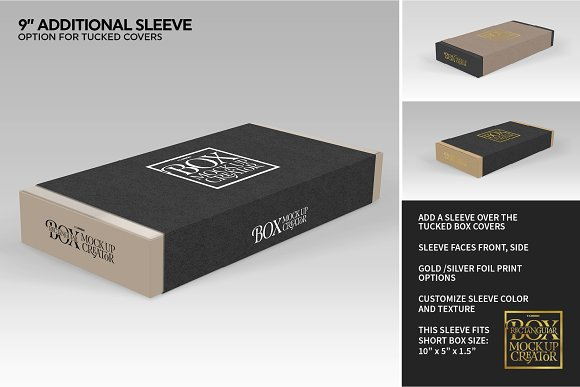 Rectangular Box Mock Up Creator in Product Mockups - product preview 16