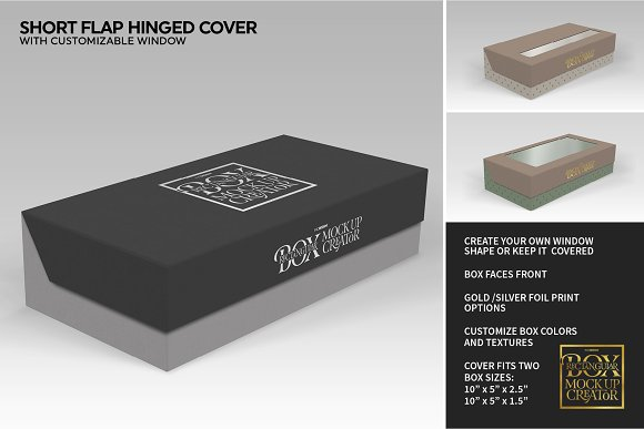 Rectangular Box Mock Up Creator in Product Mockups - product preview 20