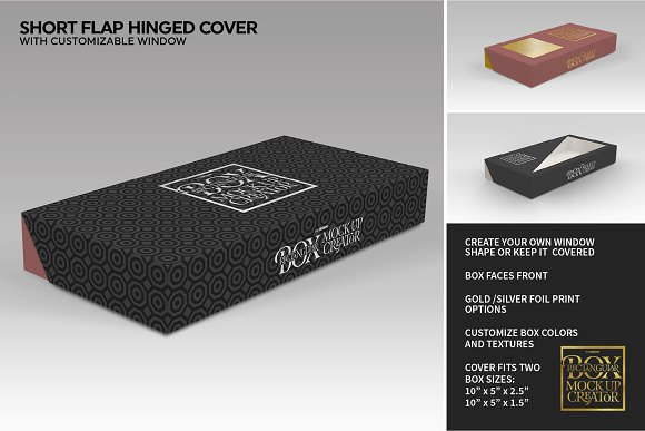 Rectangular Box Mock Up Creator in Product Mockups - product preview 21