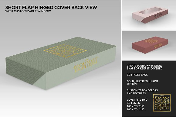 Rectangular Box Mock Up Creator in Product Mockups - product preview 23