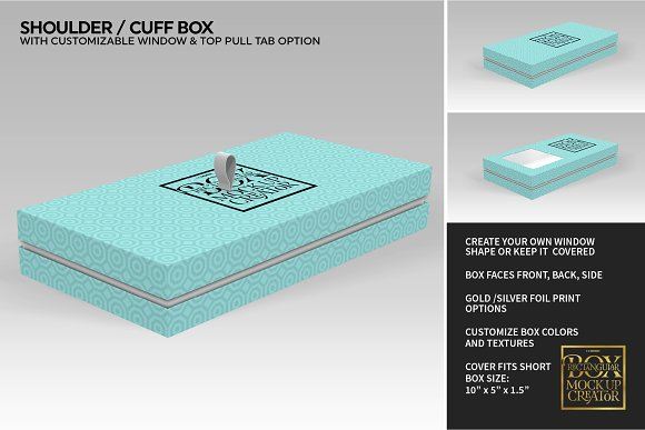 Rectangular Box Mock Up Creator in Product Mockups - product preview 30