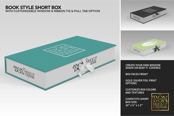 Rectangular Box Mock Up Creator in Product Mockups - product preview 40
